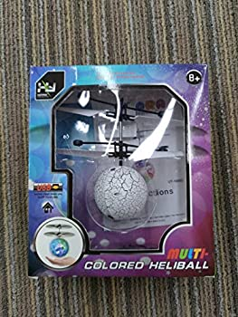 Gamory Flying Ball Kids RC Flying Toys Infrared Induction Models Aircraft Helicopter Ball Kids Gadgets Mini Drone Flying Toys Built-in 7 Color Changing LED Lights for Kids Adults  RGB1