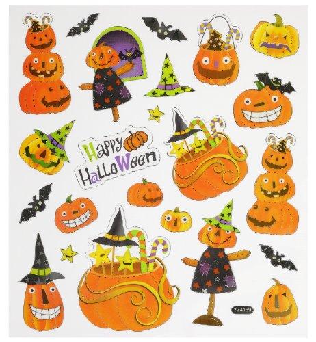 Hobby Design Sticker * Kürbis Herbst Halloween * Aufkleber