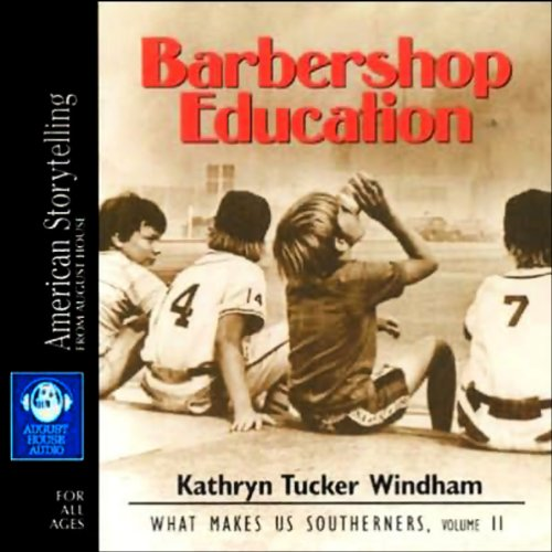 Barbershop Education audiobook cover art