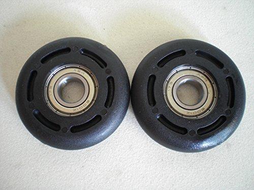 1 Paar Eckerttortechnik Garagentorrollen Aüßendurchmesser 56 mm Bohrung 12mm