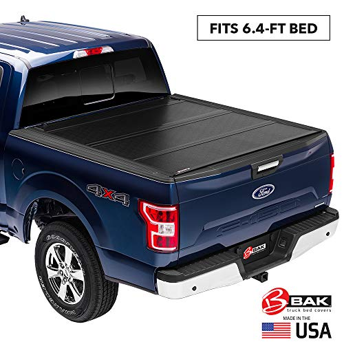 "BAK BAKFlip G2 Hard Folding Truck Bed Tonneau Cover | 226203 | Fits 2002-20 Dodge Ram, 19 CLA 1500 only, 2019: 2500-3500 only 6'4"" Bed"