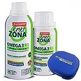 Enerzona Enervit Omega 3 RX, 240cpr + 48cpr + Portapillole...