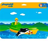 Playmobil 6739 1.2.3 Fishing Boat with Whale