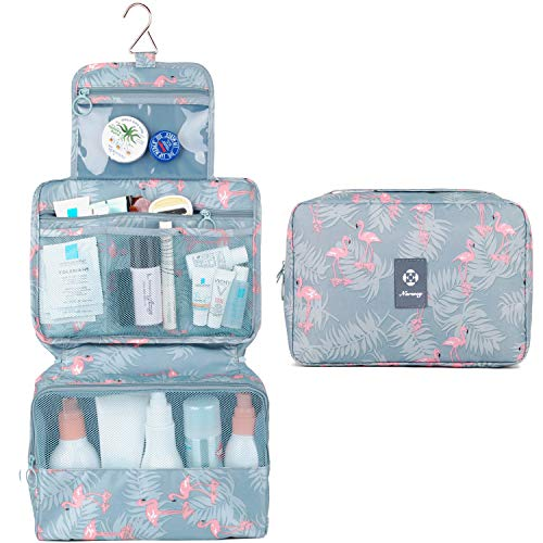 Hanging Travel Toiletry Bag Cosmetic Make up Organizer for Women and...