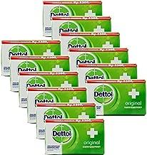 Dettol Original Antibacterial Soap, 100 Gr, 3.5 Ounces each (Pack of 12)
