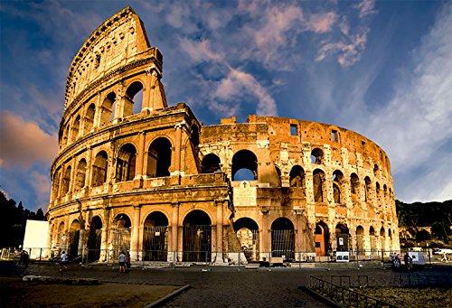 Oedim Cuadro Coliseo Romano de 95x65cm | 5mm de Grosor | 8 Modelos Diferentes a Elegir