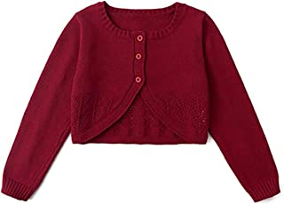 Long Sleeve Patterned Fleece Baby Cardigan Coat Spring Autumn 3M-3T Clothfairy Toddler Baby Girls Sweater