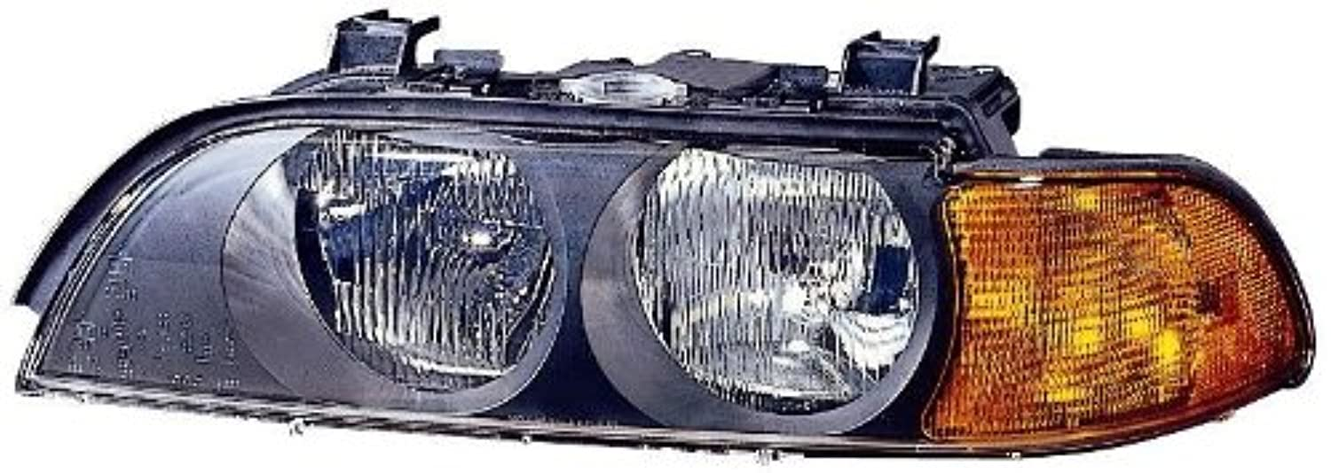 Depo 344-1110L-ASD BMW 5 Series Driver Side Replacement Headlight Assembly