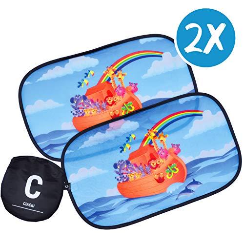 Ciaciu® Parasol Coche Infantil Lateral Electrostático Auto