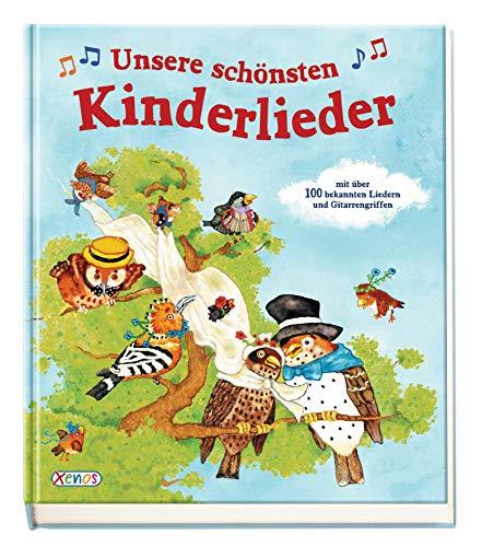 Unsere schönsten Kinderlieder: mit über 100 bekannten Liedern mit Noten und Gitarrengriffen