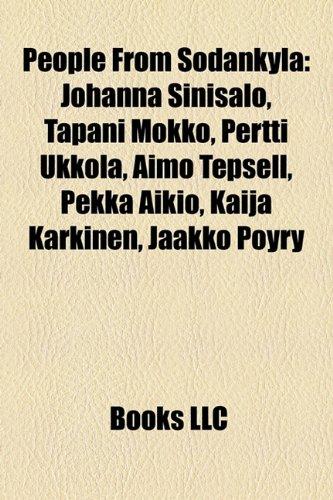 People from Sodankyl: Johanna Sinisalo, Tapani Mokko, Pertti Ukkola, Aimo Tepsell, Pekka Aikio, Kaija Krkinen, Jaakko Pyry