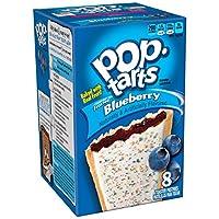 海外直送Kellogg's Frosted Blueberry Pop Tarts 14.7 OZ (416g)