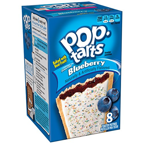Kellogg's Pop-Tarts Blueberry Frosted 8 Stück (416g)