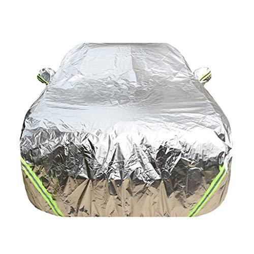 XINGP-Car Cover Cubierta del Coche Compatible con Rolls-Royce Ghost Cullinan Wraith Sweptail Amanecer Phantom Impermeable Cortina Anti Lluvia Sun Polvo Guardia Abierta la Cubierta del Lado del Coche