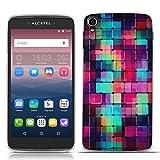 FUBAODA for für Alcatel one Touch Idol 3 (5.5 inch) Hülle, 3D Erleichterung Fantasie Muster TPU Hülle Schutzhülle Silikon Hülle für for für Alcatel one Touch Idol 3 (5.5 inch)