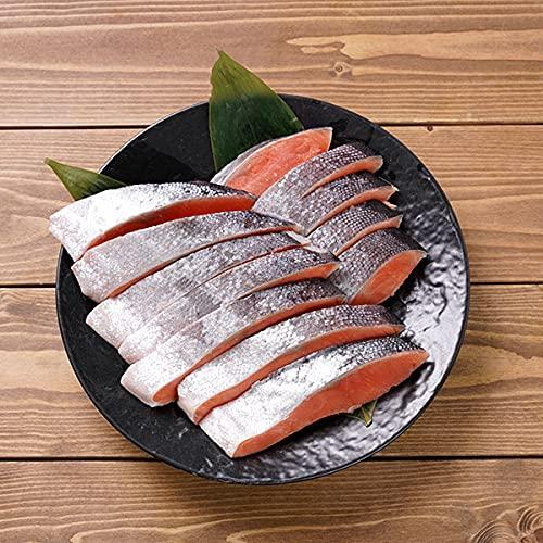 銀鮭定塩切身70g×12切(1パック)[鮭 サケ シャケ 銀鮭 切り身 切身 チーズ ご飯のお供 ごはんのおとも おかず お弁当 焼き鮭 魚 おにぎり パスタ お取り寄せ 贈答 ギフト ニッスイ] 恵方巻 恵方巻き 海鮮 予約 節分