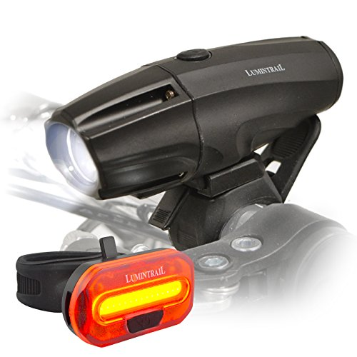 Lumintrail Super Bright USB Rechargeable LED Bike...