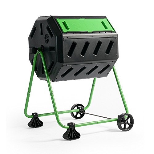 FCMP Outdoor HOTFROG Mobile Dual Chamber Tumbling Composter