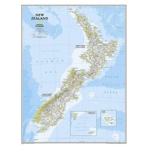 Wairarapa New Zealand Map.New Zealand Map Amazon Co Uk