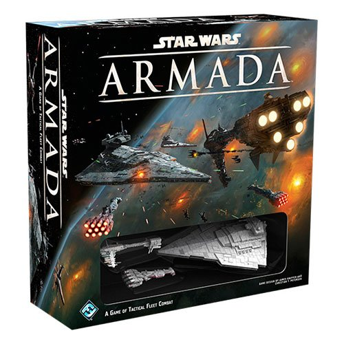 Edge Entertainment- Star Wars Juego Mesa Armada SWM01