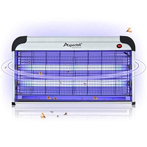 ASPECTEK Lampe UV Tue-Mouches Destructeur d Insectes Electri