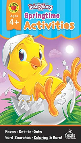My Take-Along Tablet Springtime Activities, Ages 4 - 5 [Idioma Inglés]