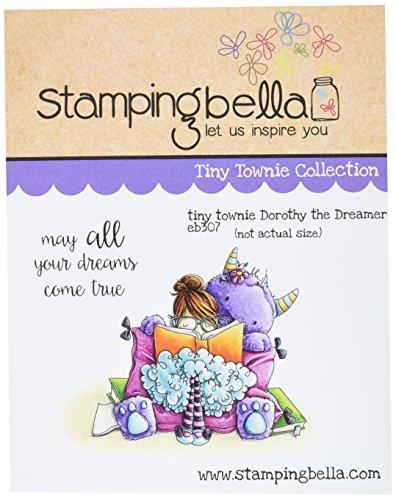 Unbekannt Stamping Bella Gummi selbst Stempel 6,5x 11,4, Tiny Townie Dorothy der Träumer