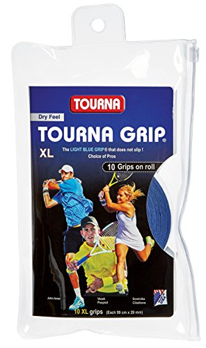 Tourna Grip XL Original Dry Feel Tennis Grip - 10 Pack
