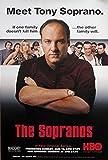 Sopranos Cast Poster Drucken (58,42 x 88,90 cm)