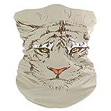 DEZIRO adulto Tiger Graphic Headwear Wrap Sport Diadema Sweatband Magic Bufanda Casco Liner, Pasamontañas para pesca, senderismo, correr, motociclismo