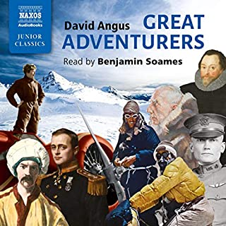 Great Adventurers audiobook cover art