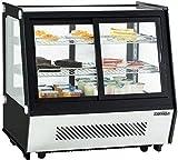 Vitrina refrigerada de suelo con doble puerta y doble cristal refrigeración con ventilación forzada CASSELIN CVR125L