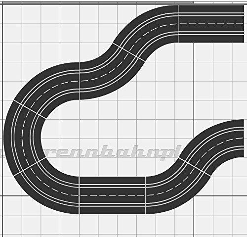 Ausbauset Erweiterung Carrera Digital 132 124 Evolution