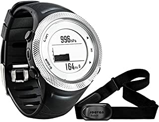 MIAOGOU Relojes Deportivos frecuencia Reloj Deportivo GPS Bluetooth 4.0 Correa para el Pecho + Monitor de frecuencia cardíaca a Prueba de Agua Contador de calorías Reloj de Fitness Saat Montre Homme