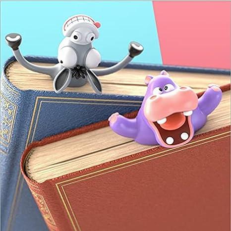 Zoomarlous Marcap/áginas loco para m/ás diversi/ón al leer dibujos animados en 3D con bonitos animales