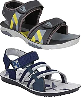 Zenwear Combo Pack of 4, Men's Sandal and Floater