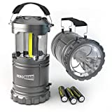 2 x LED Lantern V2.0 with Flashlight - The Original & Best Lantern/Flashlight Combo. 2020 Tech (350 LUMENS) - Collapsible Camp Lamp -...