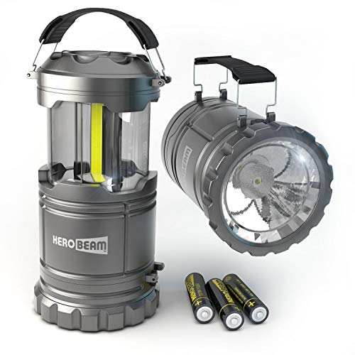 2 x LED Lantern V2.0 with Flashlight - The Original & Best Lantern/Flashlight Combo. 2020 Tech (350...