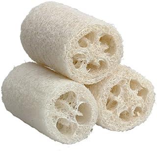 3pcs Natural Organic Loofah Sponges Exfoliating Shower Loofah Luffa Bath Sponge Body Scrubbers Sponges for SPA Beauty Bath...