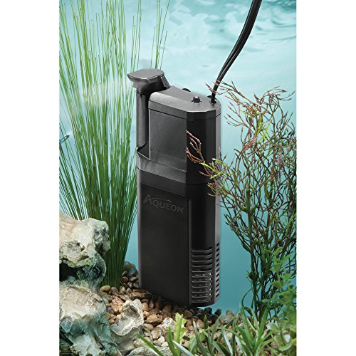 Aqueon Quietflow Internal Power Filter, 10 Gallon,