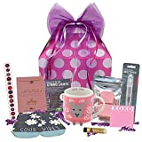 Beyond Bookmarks Trendy Gal Gift Basket