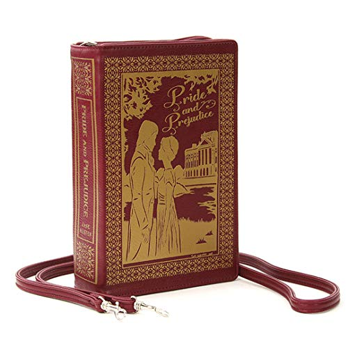 Pride and Prejudice Book Clutch Bag