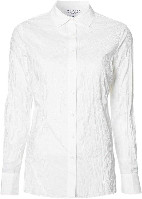 Derek Lam 10 Crosby Womens ButtonDown Long Sleeve ButtonDown Top