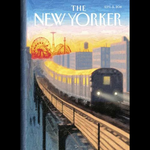 The New Yorker, September 5th 2011 (Rebecca Mead, Tad Friend, Ian Frazier) audiobook cover art