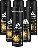 6* Adidas Deospray Deo Bodyspray 150ml Victory League 6...
