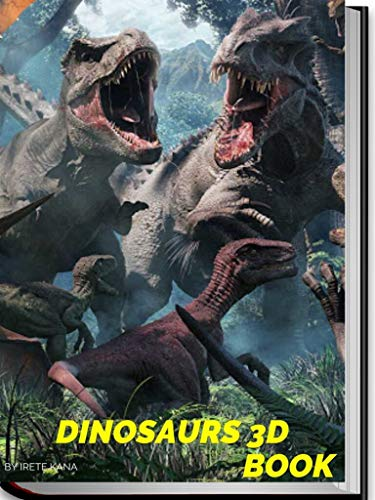 3D Dinosaurs Collection Book. (English Edition)