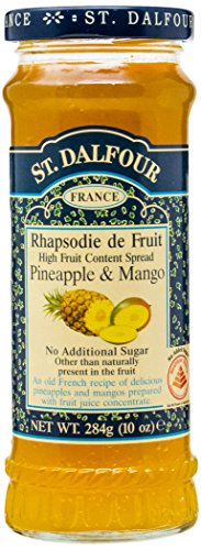 St.Dalfour Rapsodia De Frutas Piña Y Mango Frasco Cristal 284G