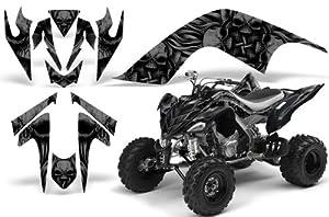 CreatorX Yamaha Raptor 700 Graphics Kit Decals Stickers Skullcified