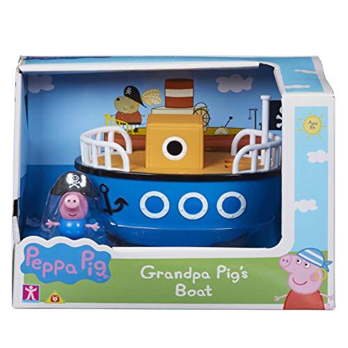 Peppa Pig 6928 - Barco de Cerdo con George, Multicolor