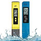 Nobranded Testeur de pH numérique 4 en 1 multiparamétrique TDS avec écran LCD pour...
